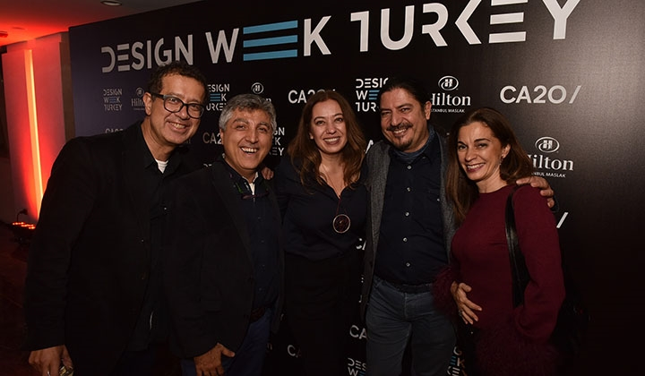 Design Week Turkey 2018 açılı..